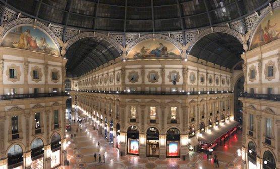 Vista sulla Galleria