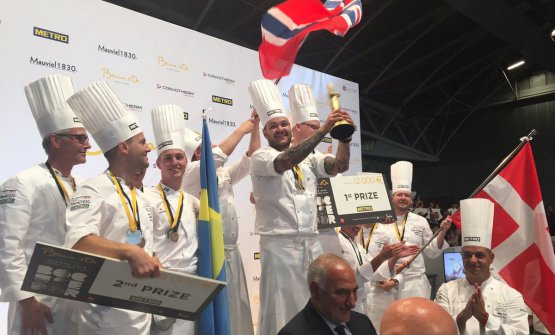 Solo Scandinavia sul podio alla finale europea del Bocuse d'Or di Torino: prima la Norvegia, seguono Svezia e Danimarca