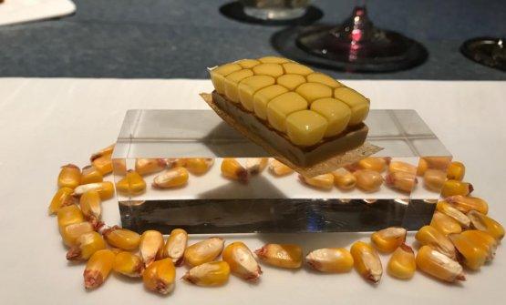 Tatinmultiesféricade maíz y foie