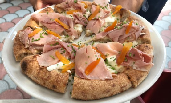 La pizza del territorio di Matteo Aloe