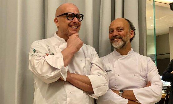 Paolo Brunelli e Moreno Cedroni