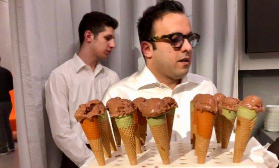 Il gelato al cioccolato di Brunelli
