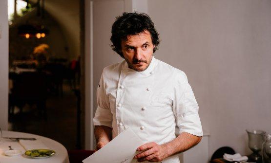 Antonio Zaccardi, chef del Pashà assieme a Maria Cicorella, proprietaria del ristorante