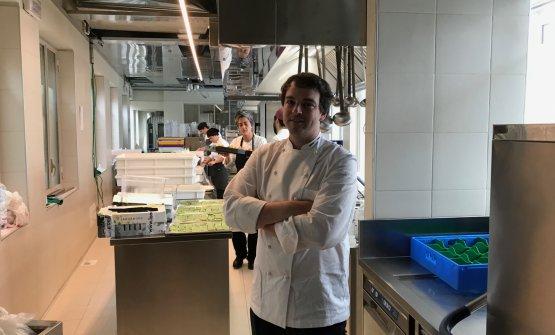 Resident chefGabriele Faggionato
