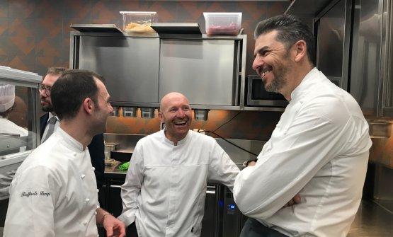Questioni di statura: i tre chef protagonisti dell
