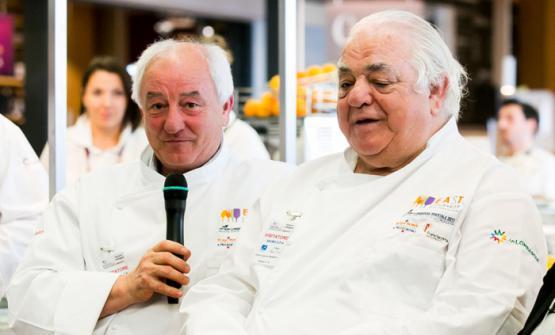 Francesco e Romano Tamani: insieme gestiscono il ristorante Ambasciata di Quistello, in provincia di Mantova