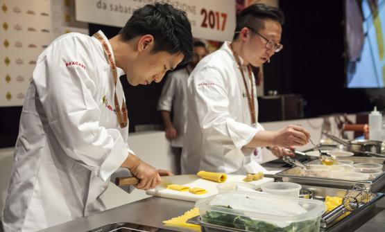 Jun Lee, coreano, ambasciatore della pasta fresca in Corea del Sud