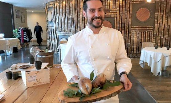 Marco Acquaroli presenta la sua deliziosa anatra;