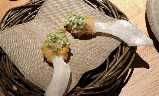 Schnitzel di lingua di merluzzo
