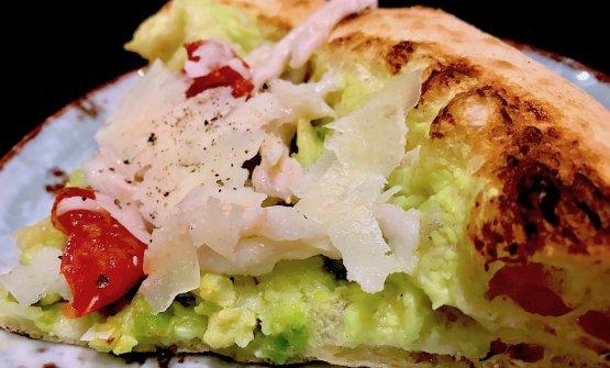 La pizzaMinestra di broccoli e arzilla, una dell