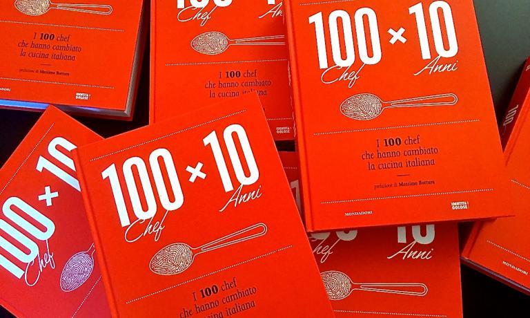 100 chef x 10 anni, ossia i 100 chef che hanno cambiato la cucina italiana � il titolo del volume targato Identit� Golose ed edito da Mondadori Electa che verr� presentato domani a Milano, alle 16, nella Sala Reale della Stazione Centrale. Siete tutti invitati!