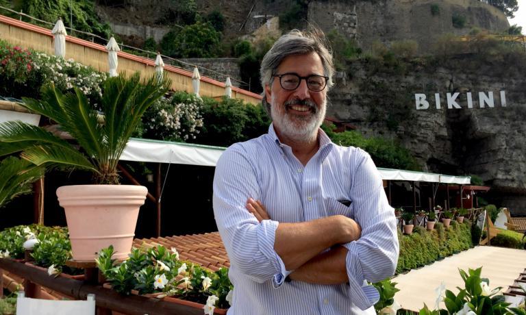 Giorgio Scarselli, born in 1969, restaurant manage