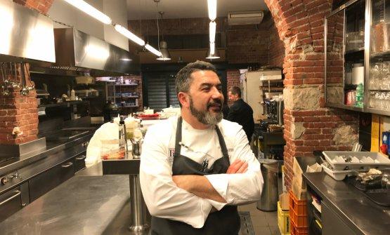 """Ivan Milaninella cucina """"ufficiale"""" del Pont"""