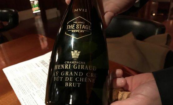 Diagoro Ciervo ci fa assaggiare lo champagne maison