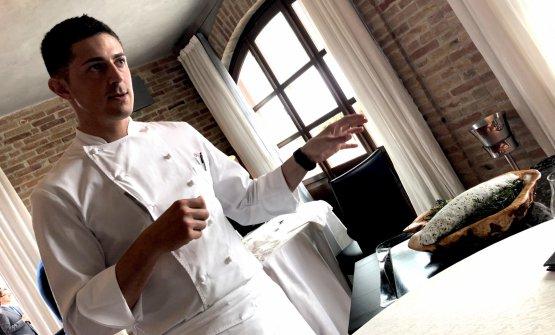 Michelangelo Mammoliti, classe 1985, chef della Ma