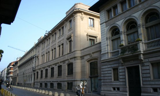 La sede storica del Corriere, in via Solferino 28 a Milano
