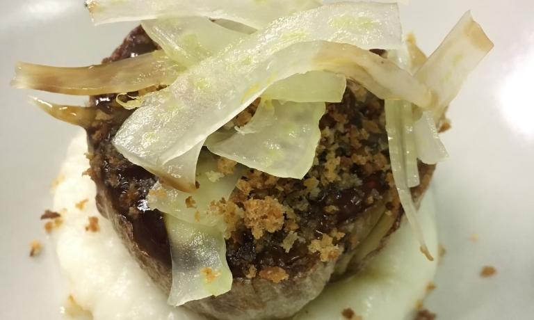 Finocchio, radice amara di Soncino e limone: il piatto dell'autunno di Alessandro Sciortino e Nicholas Carusio