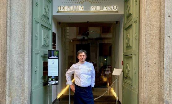 Riccardo Agostini, chef-patron de Il Piastrino di