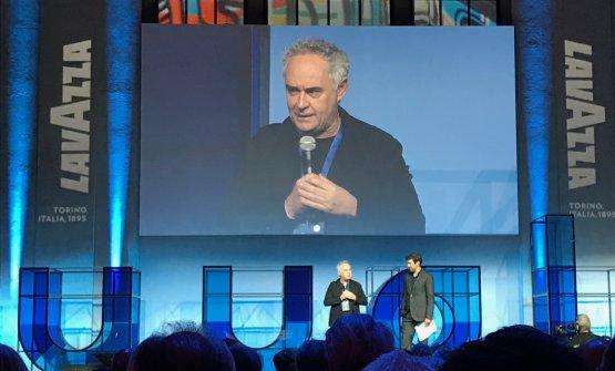 Ferran Adrià sul palco