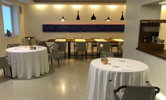 La sala della nuova Osteria