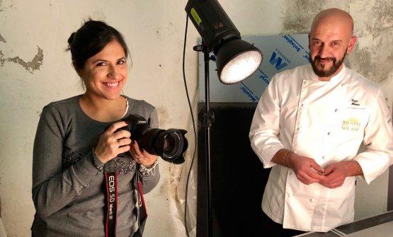 Florio con la nostra fotografaSonia Santagostino