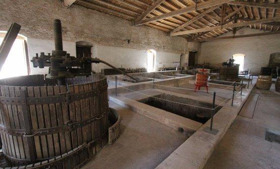 Il palmento, che è diventato una sorta di museo delle antiche lavorazioni