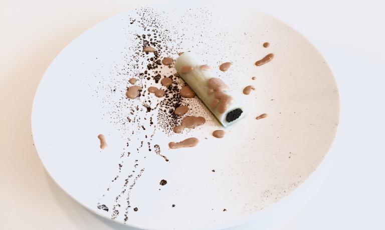 Pasta, patate e seppia, l'elegante piatto realizza
