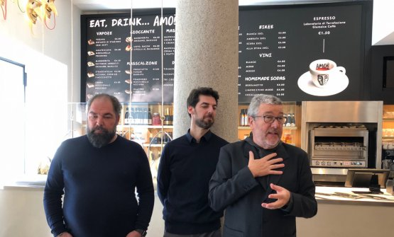 Raffaele and Massimiliano Alajmo and Philippe Starck