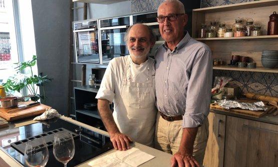 Il siciliano Corrado Assenza e il friulanoJosko