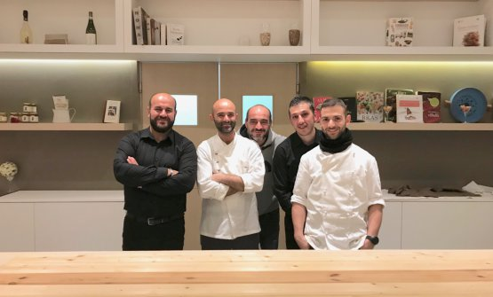 Alta cucina a Macomer, la sfida di Leonardo Marongiu