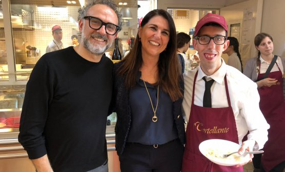 In the middle, Erika Coppelli, president at Tortellante
