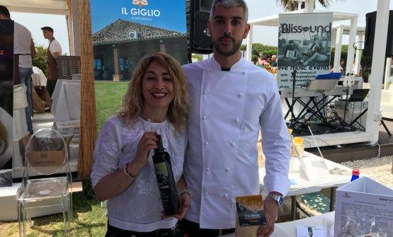 Antonella Orrù e Fabio Vacca