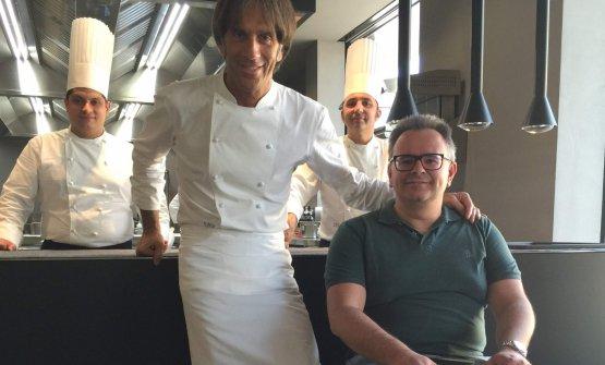 Davide Oldani e Felice Marchioni