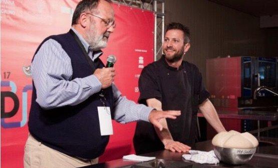 Oliva con Paolo Marchi a Le Strade della Mozzarella