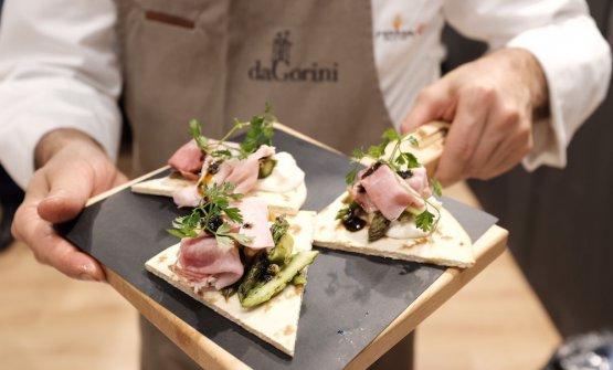 Piadina romagnola con il prosciutto cottodiGianluca Gorini