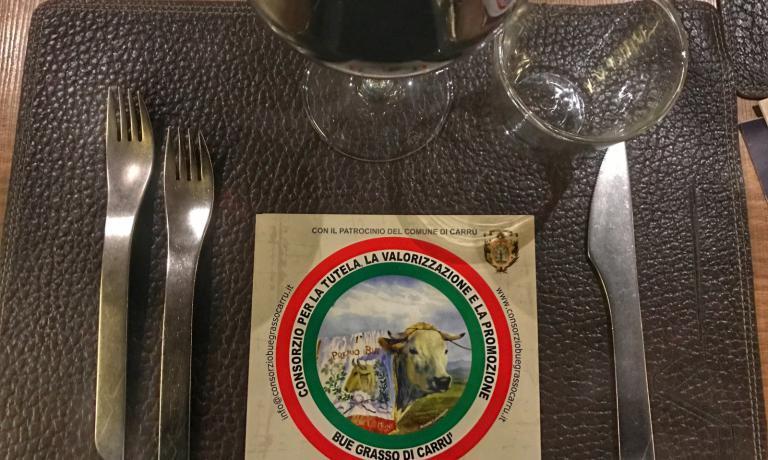 Una cena organizzata dal Consorzio del Bue Grasso