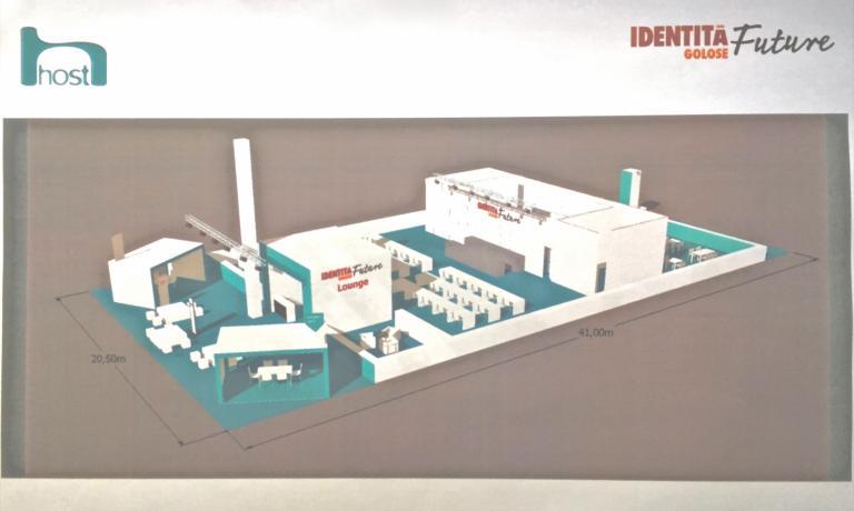 The rendering plan of Identità Future
