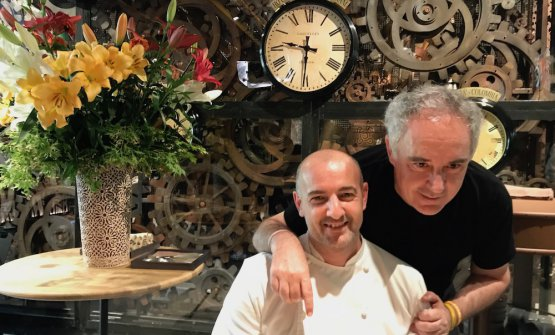 Federico Zanasi and Ferran Adrià: they've ope
