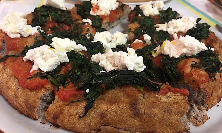 LaRicotta, erbe e limoneconimpasto Venere (foto Luciana Squadrilli per Pizza on the Road)