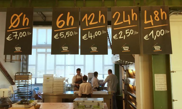 I prezzi del pane a Mamapetra