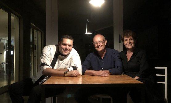 Lo chef conGepi OllanoeDaniela Fadda