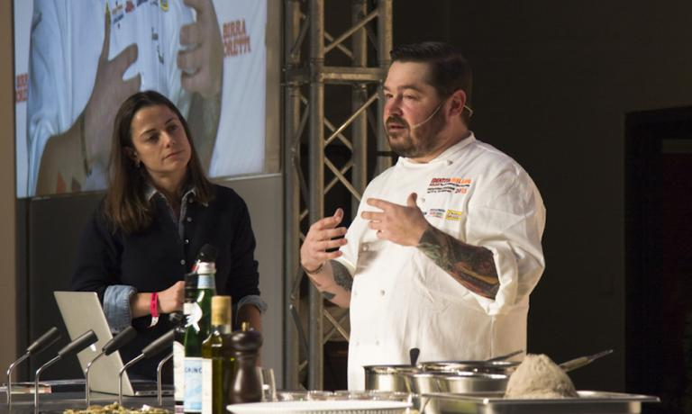 Sean Brock, the king of the South of the United States. With him, Laura Lazzaroni