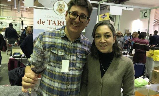 Matteo Marzari ed Elena Dell'Adami de Tarczal