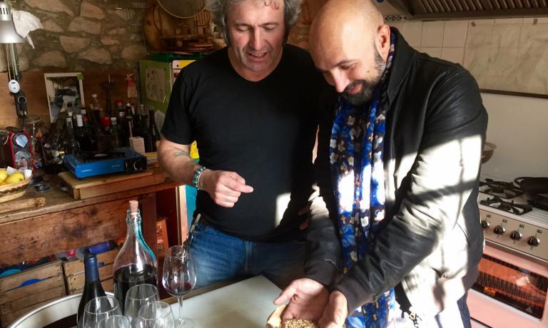 Bernini con Andrea Ribaldone