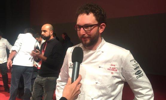 FILOTTO. Alessio Longhini della Stube Gourmet dell'hotel Europa di Asiago (Vicenza), Giovane dell'anno e neo-stella