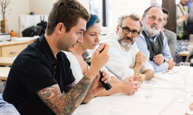 Alex Stupak,Emma Bengtsson,Massimo Bottura, Paolo Marchi