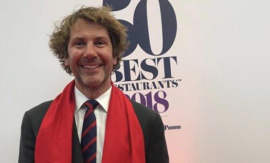 Mehmet Gürs, chef del ristorante Mikla di Istanbul, per la prima volta nella classificaWorld's50Best(44°) annunciata a Bilbao martedì scorso (foto instagram)
