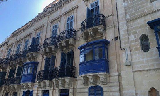 La facciata del futuroIniala hotel, sede del ristorante Esenzi