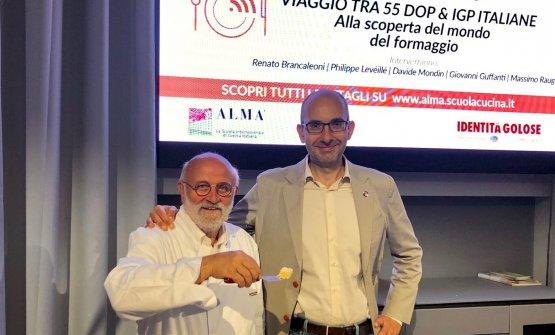 Renato Brancaleoni e Davide Mondin