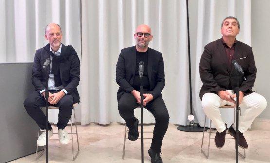 Moreno Cedroni, Davide Groppi e Claudio Ceroni: a